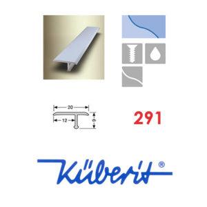 پروفیل استیل تی شکل جهت اتصال و پوشش درز ها