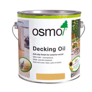 WOOD DECKING OILS