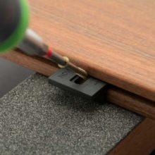 کلیپس نصب دکینگ و نمای چوب