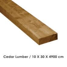 الوار خام چوب سدار