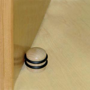 ضربه گیر چوبی پشت درب سیستم پیچ مخفی جدید آلمانی