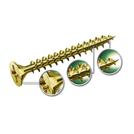 spax zinc screw