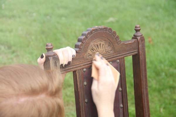 نکاتی در مورد سنباده زنی چوب