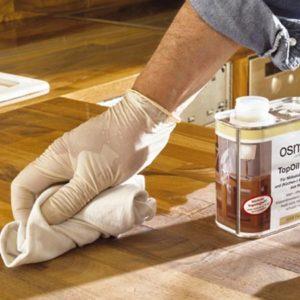 تاپ اویل محافظ سطوح چوبی فوقانی کابینت آشپزخانه ازمو آلمان